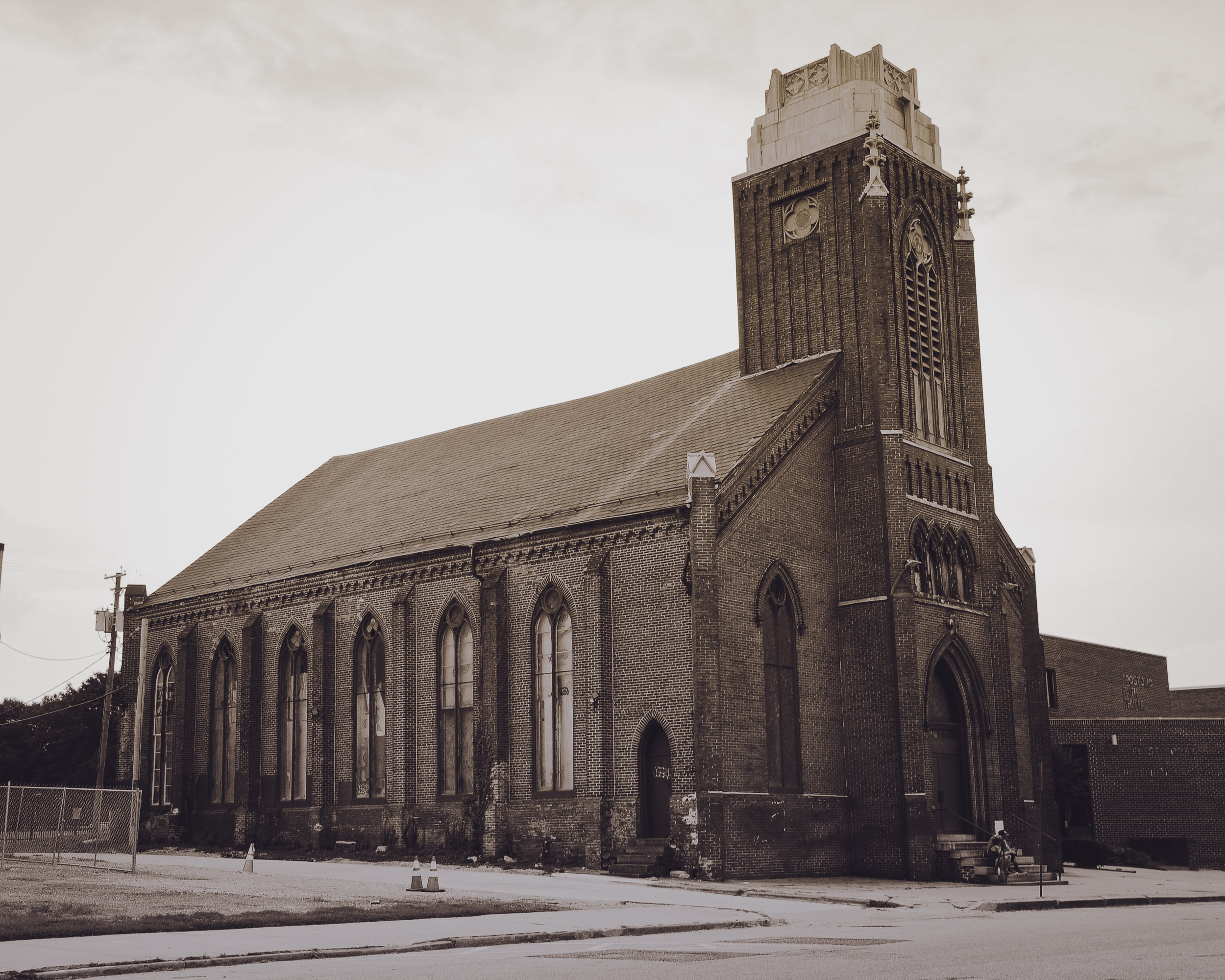 Old Church in Baltimore City Photo: Rose Anderson, 2018