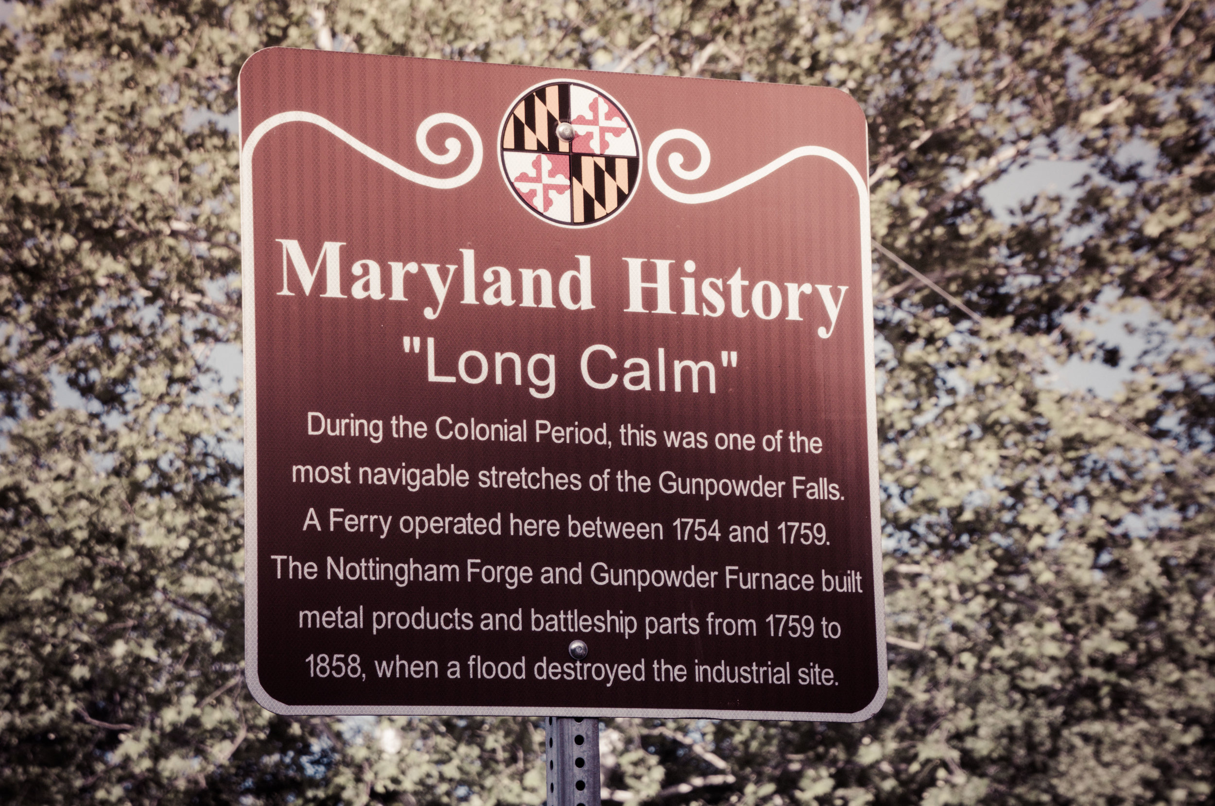 Long Calm Historical Marker