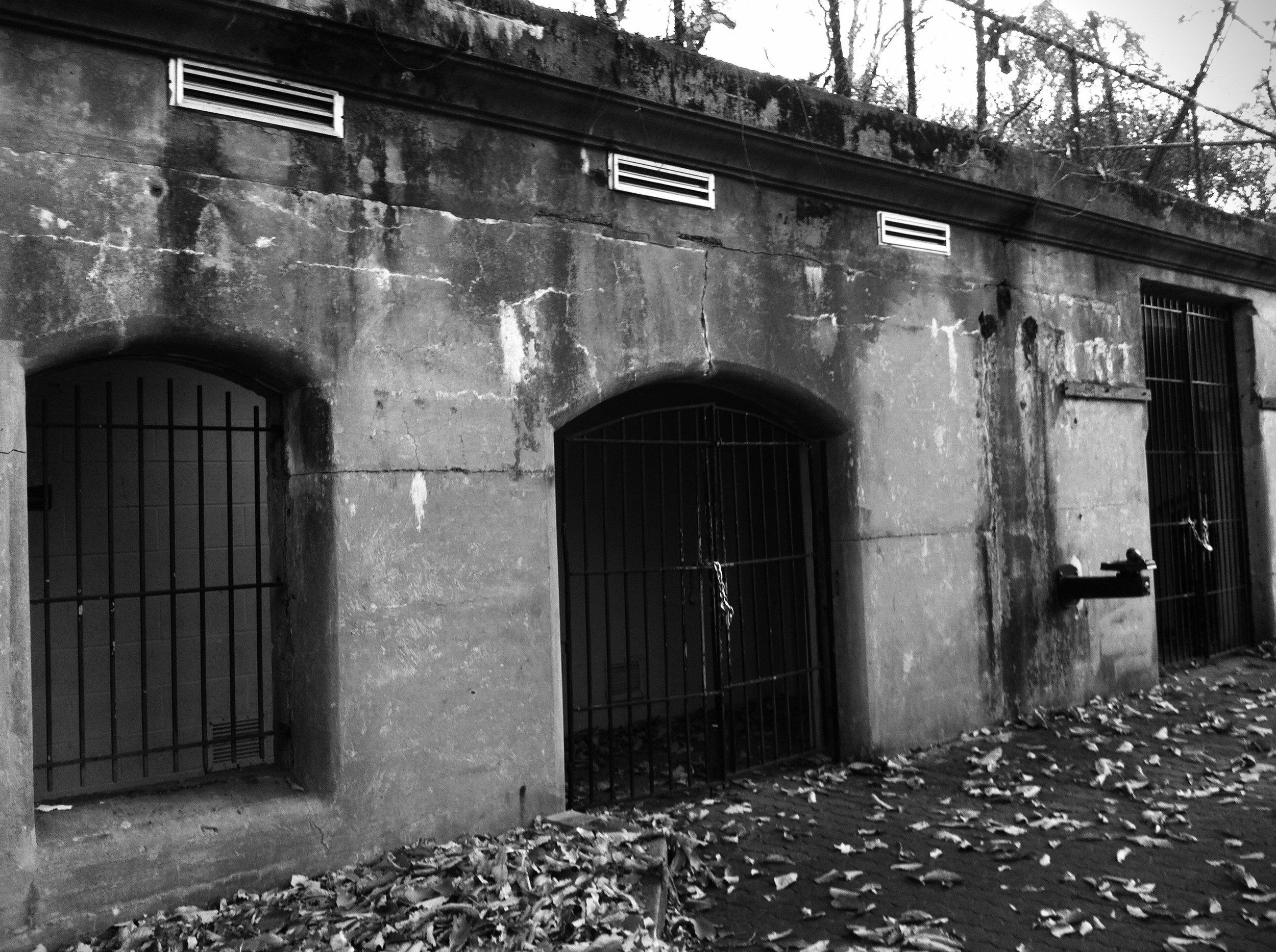 Ruins at Fort Howard Photo: Rose Anderson