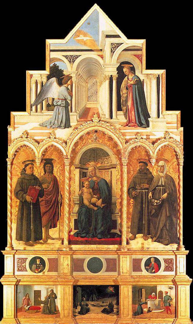 Polyptych of Saint Anthony by Piero della Francesca in the Pinocotecca of Perugia.jpg