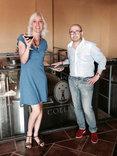 Laura Graham and Giuseppe Collesi.jpg