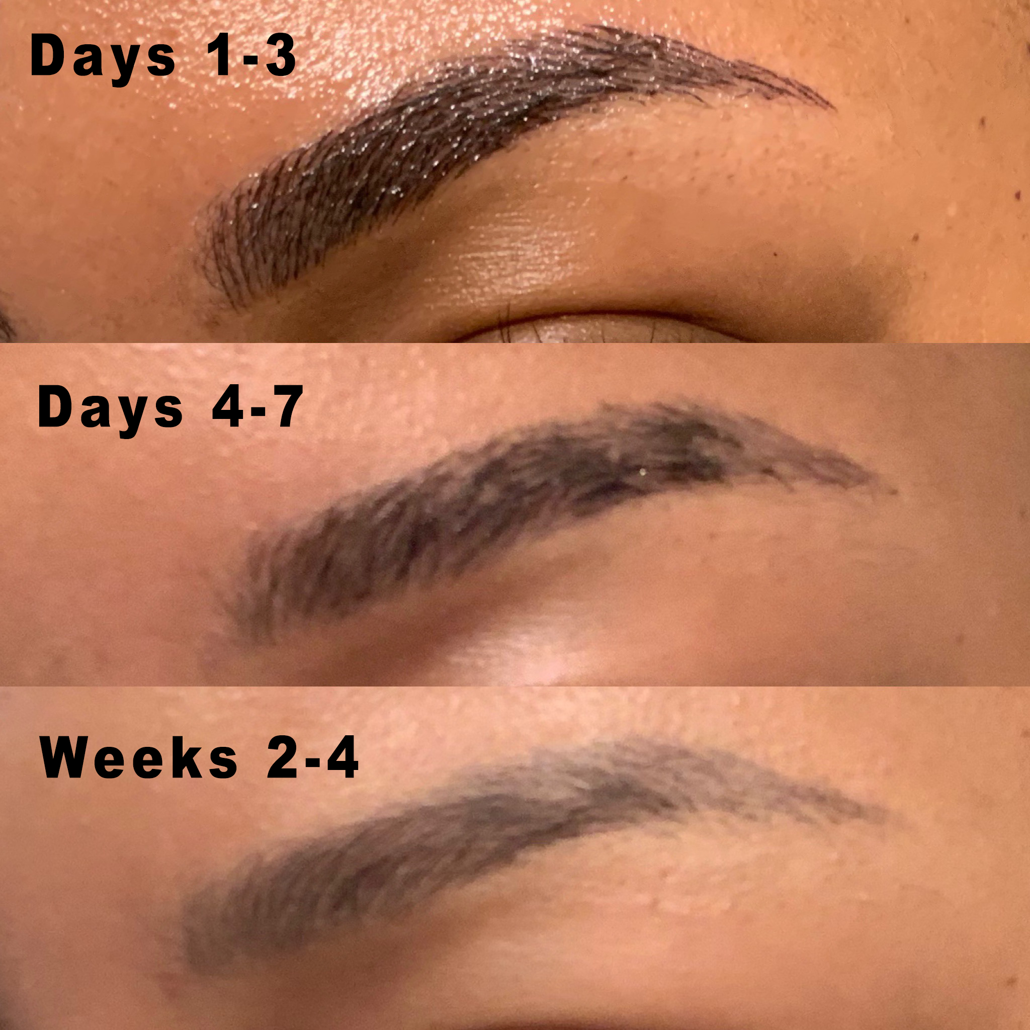 rissywoo — My Eyebrow Microblading Experience