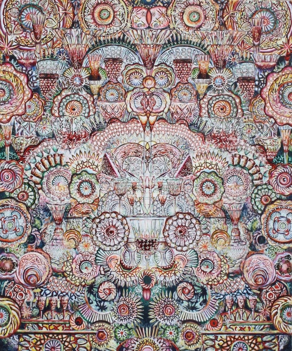 Jubilee , oil on canvas, 70x84in, 2012