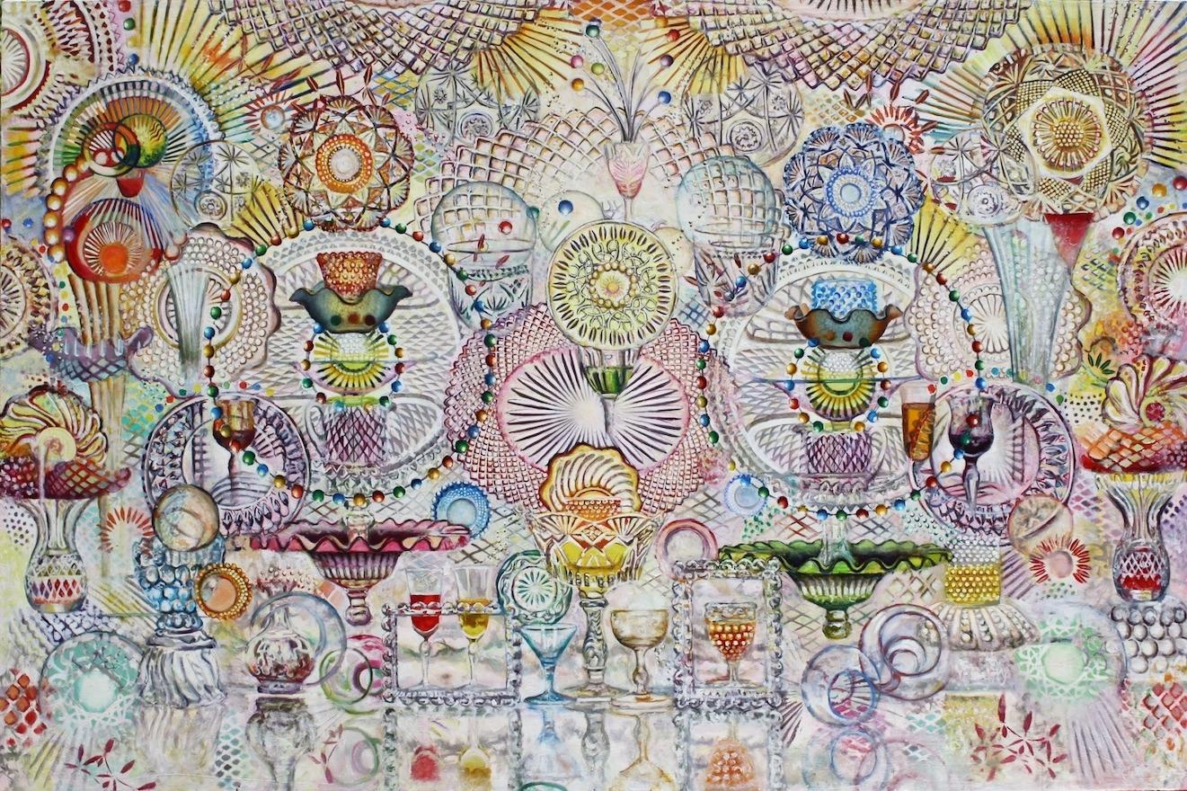 Oxytocin,  oil on canvas, 64x42in, 2011