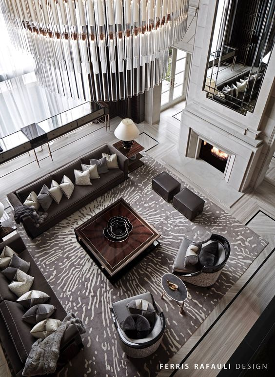 CREATE AN ICONIC, SOPHISTICATED LIVING SPACE
