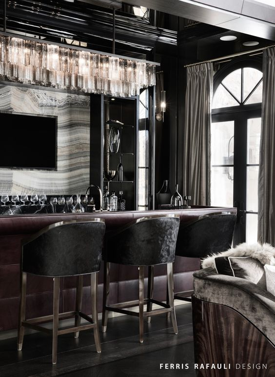 CREATE AN ICONIC, SOPHISTICATED LIVING SPACE BAR INTERIOR DESIGN