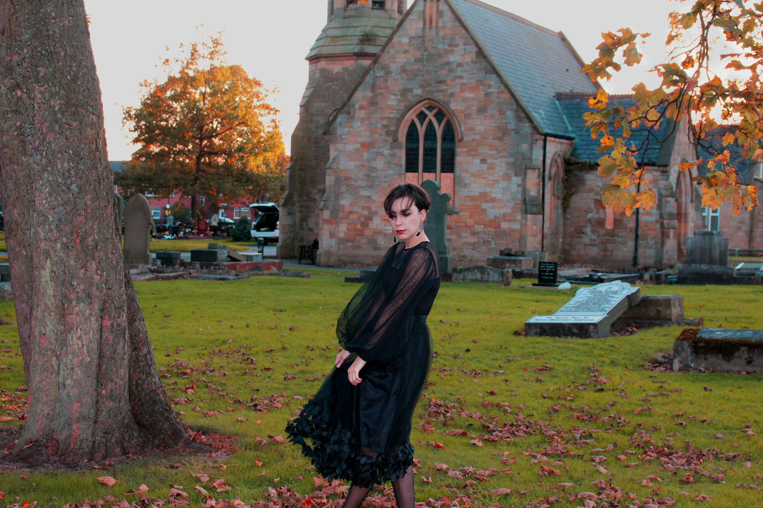 Me in the old Heaton Cemetery
