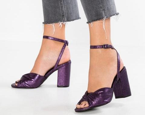 New Look Toddler High Heeled sandals purple heels purple sandals Rhoyally Chic Fashion Blog
