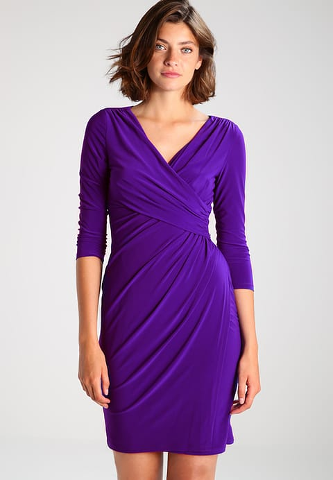 lauren ralph lauren shift dress purple dress rhoyally chic uk style blogger