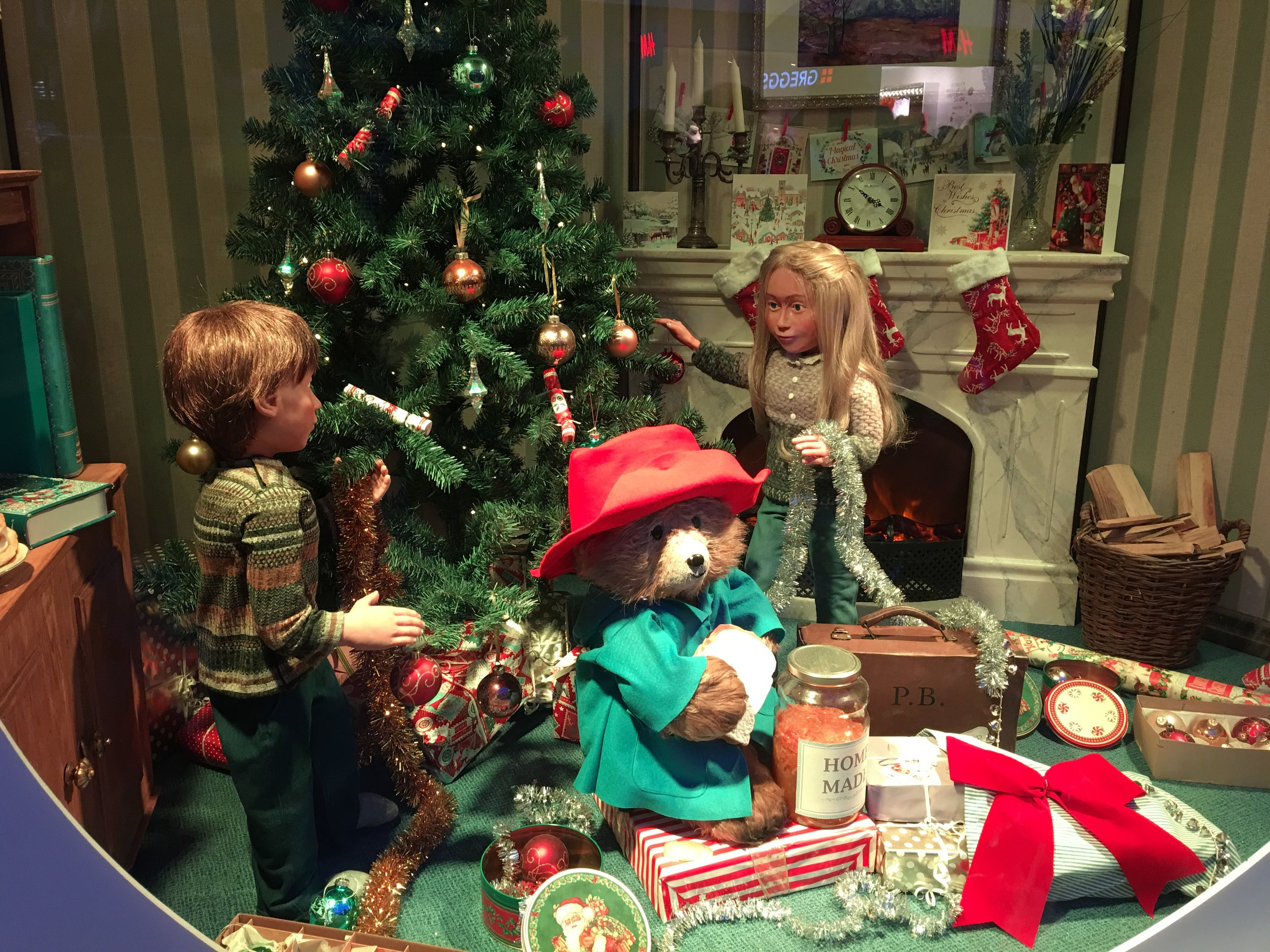 P.s. Paddington wishes all of you celebrating a merry Christmas -
