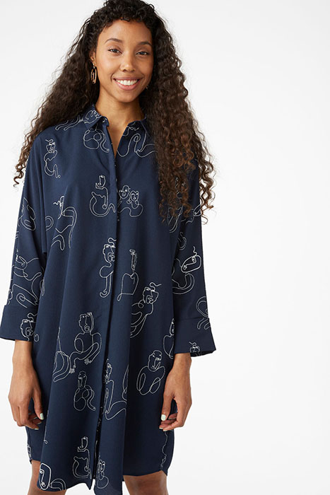 Monki Doodle Trend Shirtdress