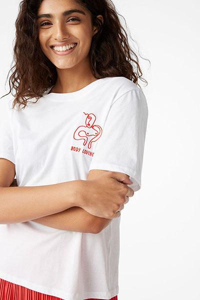 Monki Doodle Trend Tshirt