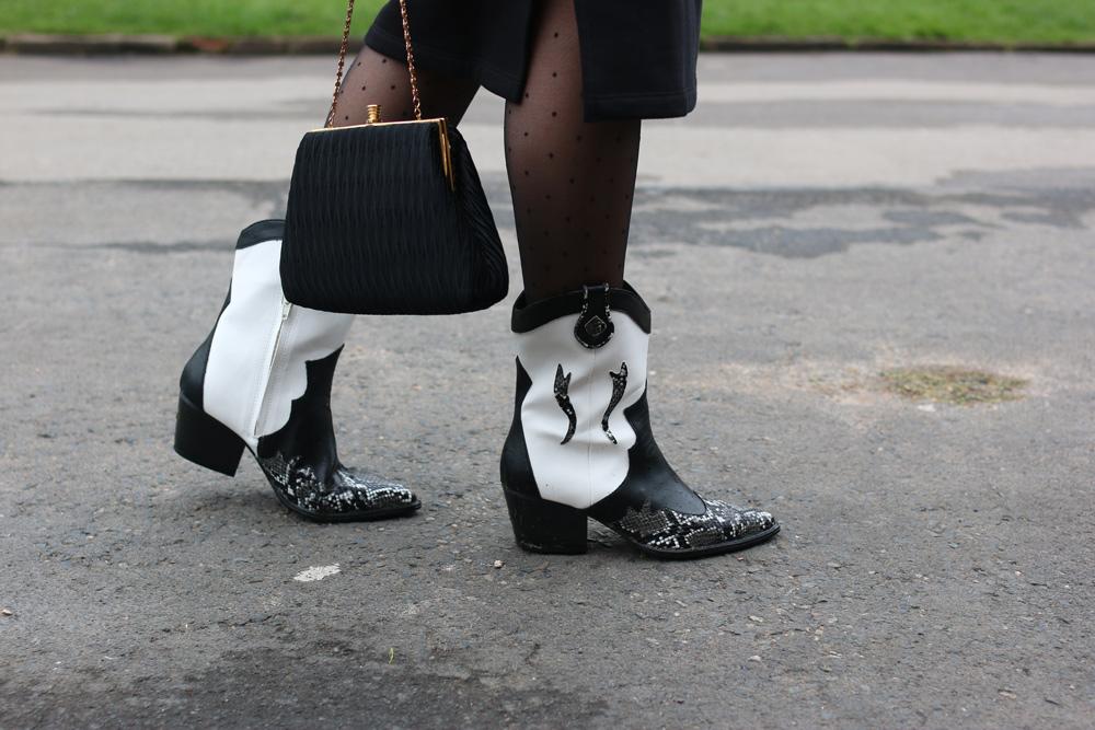 Stradivarius cowboy boots