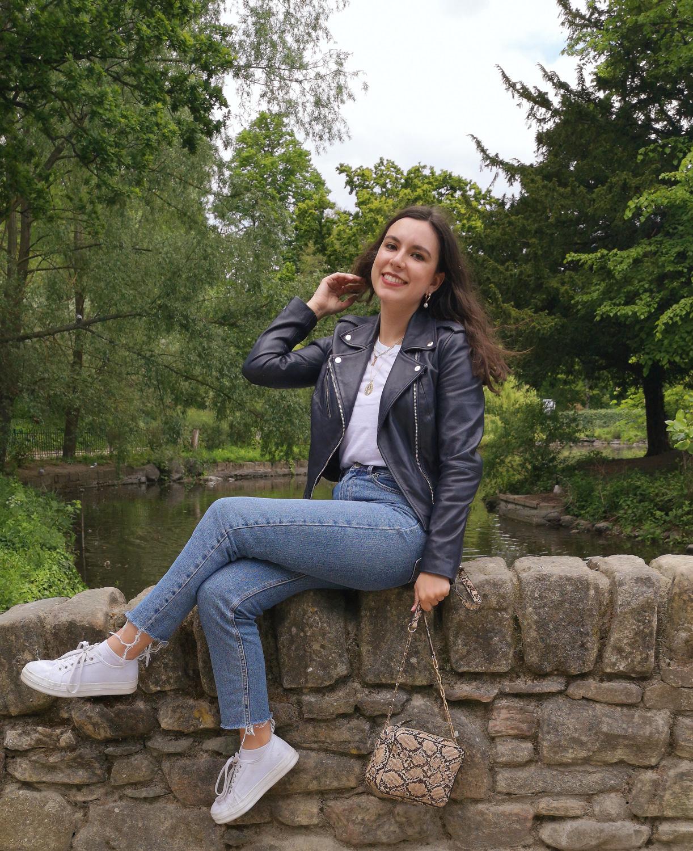 Lakeland Leather Grasmere Biker Jacket