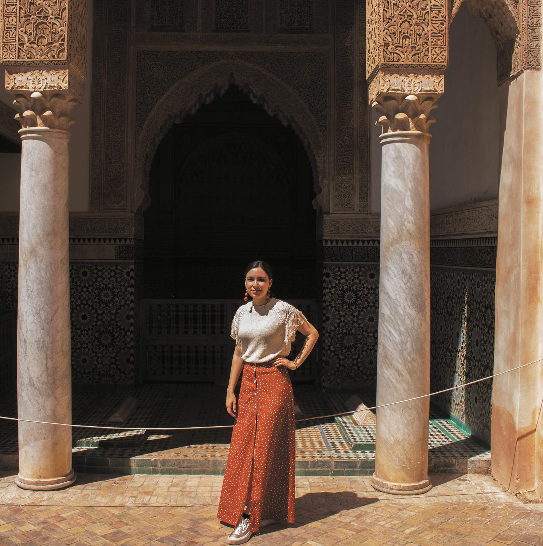 Marrakech tombs