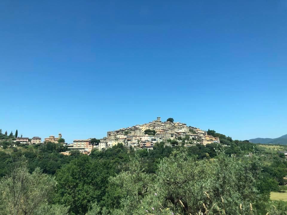 Casperia - a medieval hilltop village not far from Rome