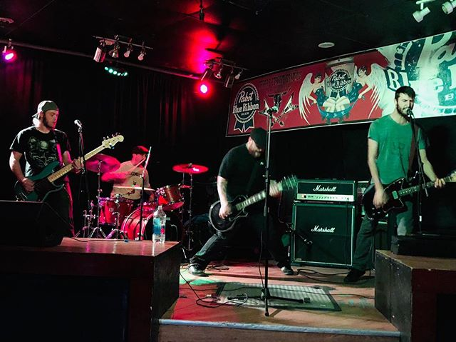 Thanks @zombiict @olde_dogs and everyone at @cherrystreetstation last night. We had a blast! Next stop is #vermont and we're stoked! #northamerica #tour #2018 #punk #rock #music #docrotten