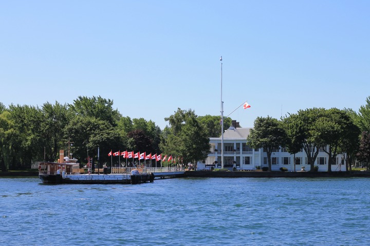 Toronto Island is home to the RCYC, one of Canada's premier yacht clubs