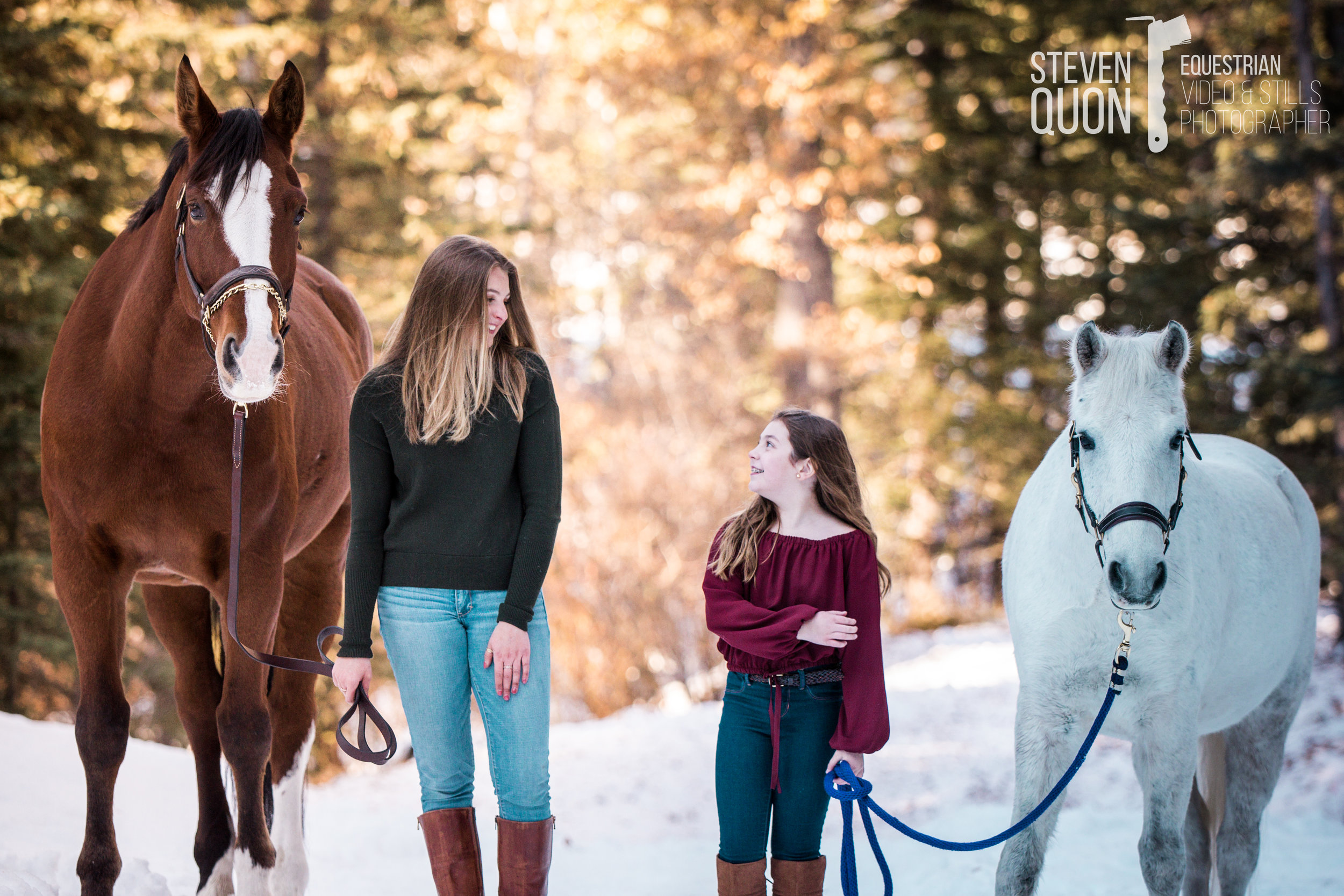 EQUINE PORTRAITURE: WITH PEOPLE -