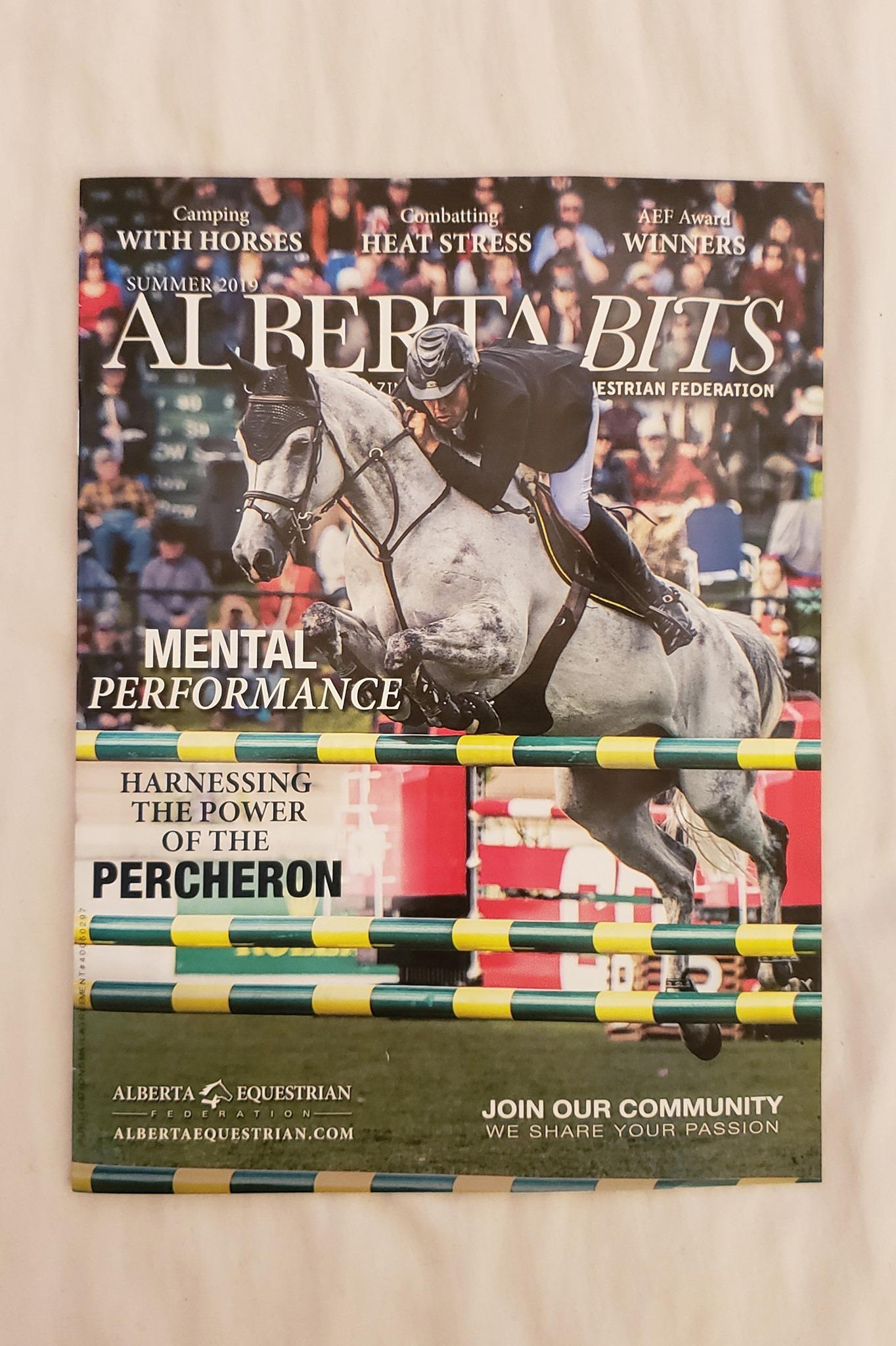Alberta Bits, Summer 2019 Edition - Alberta Equestrian Federation