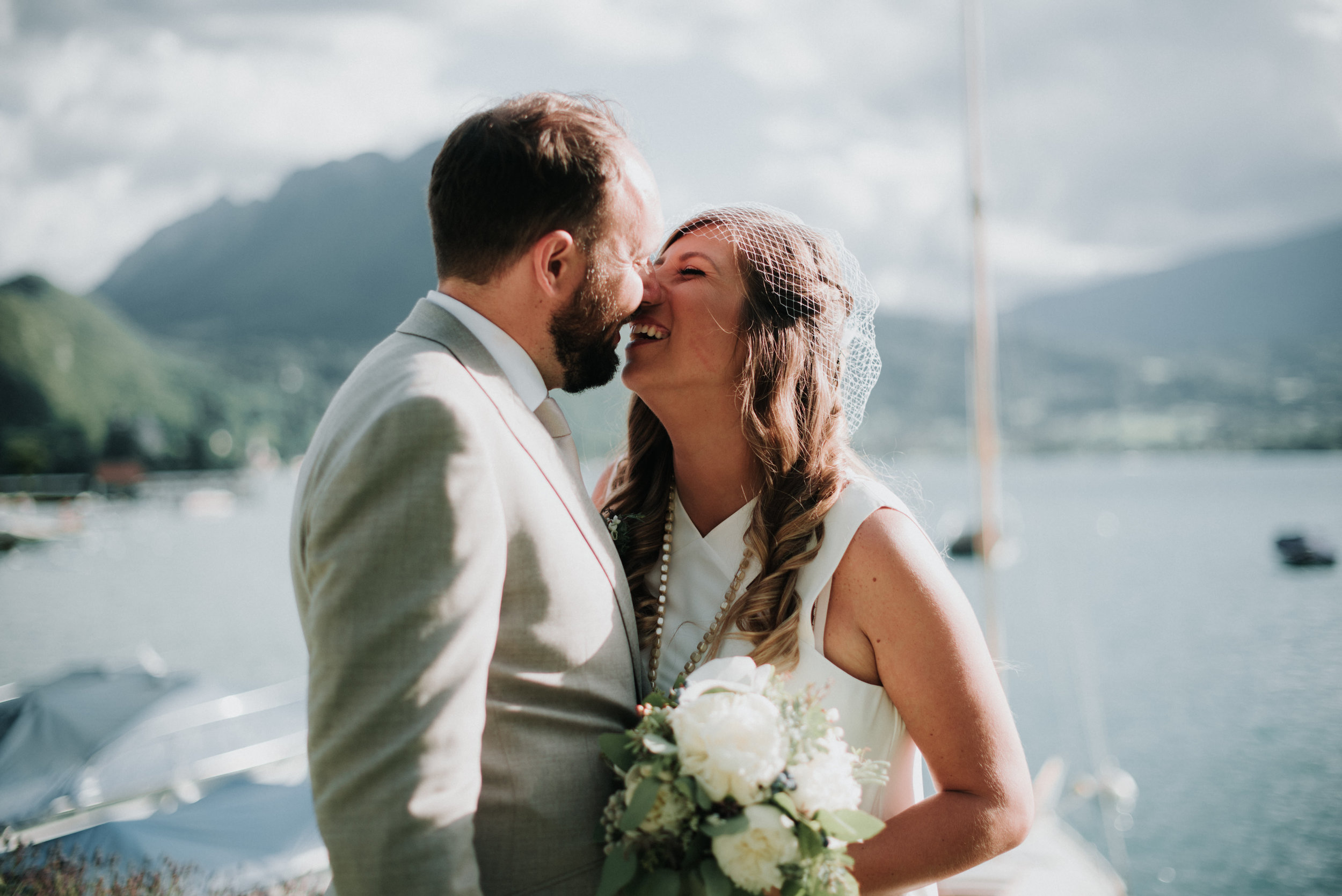 Andréa et Alexis - Mariage sur le lac d'Annecy