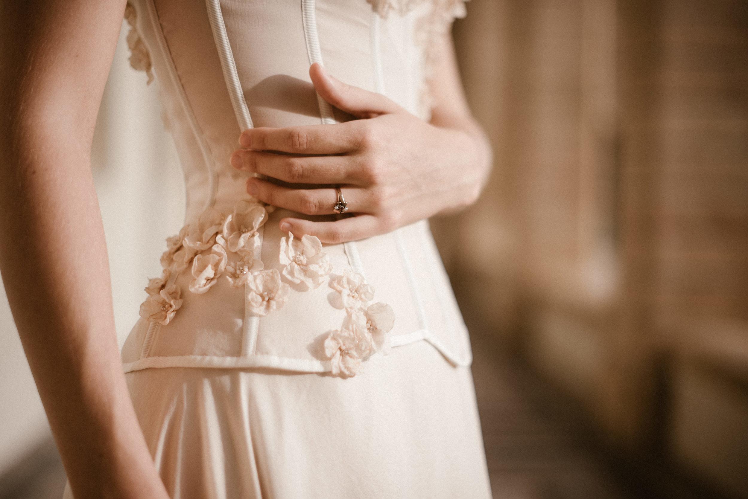 Robe Nuée de Pourpre - Robes corsetées