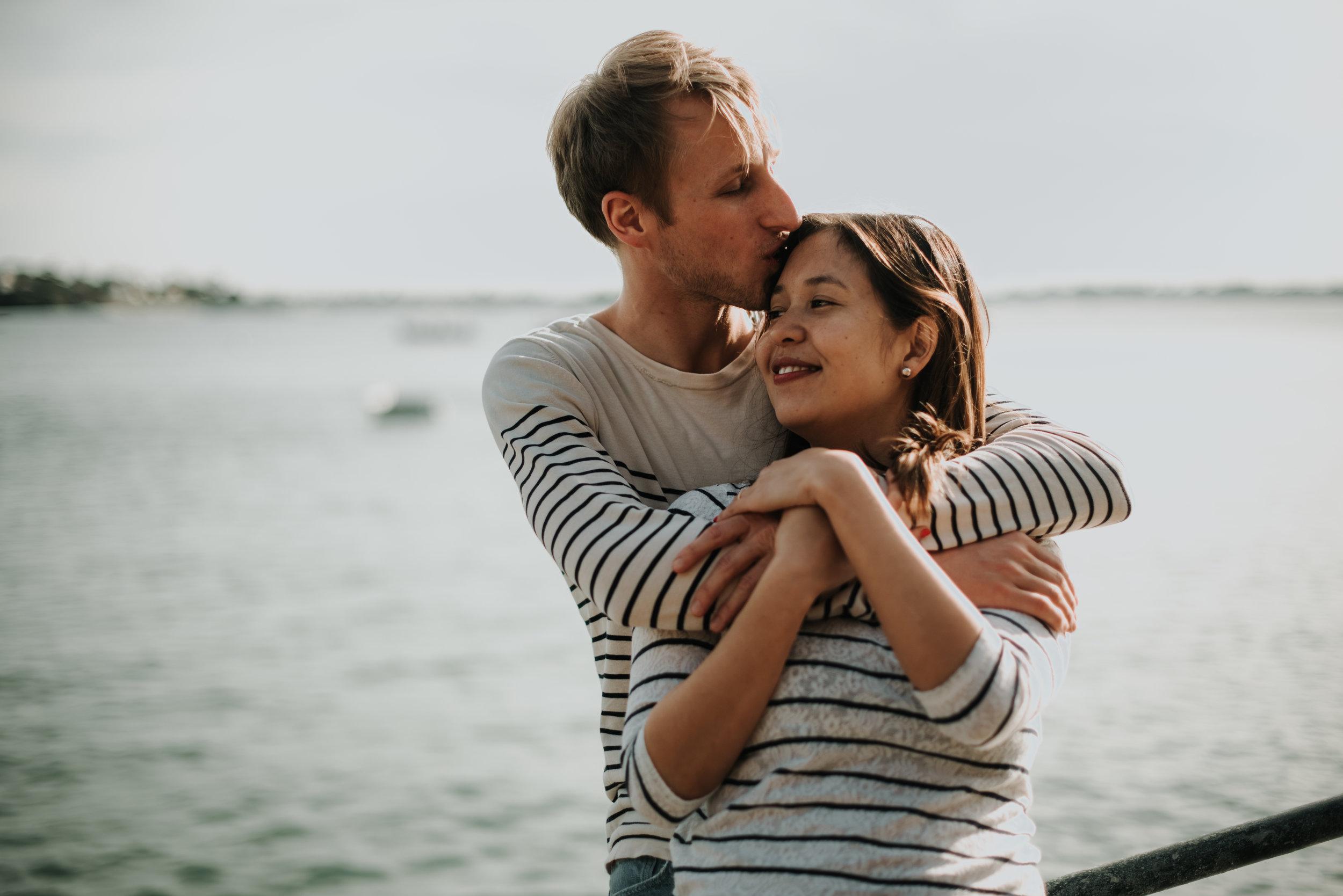 Mélanie et Augustin - Séance Engagement à St Briac