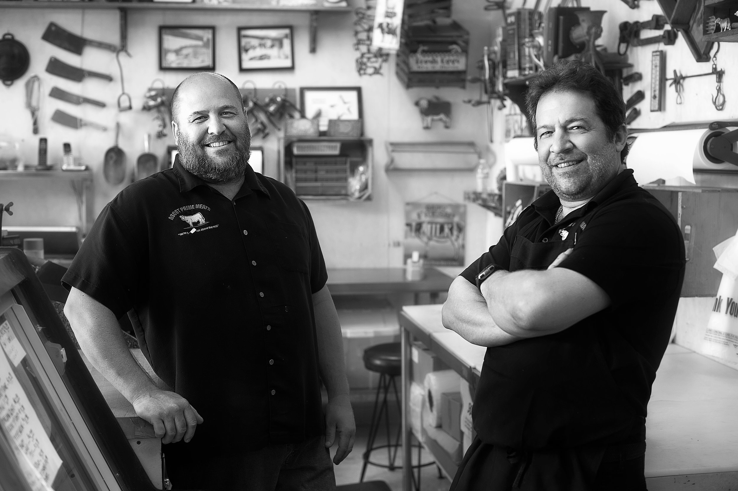 Ascot Prime Meats owners, and founders' grandsons: Matthew & Eric Domanico