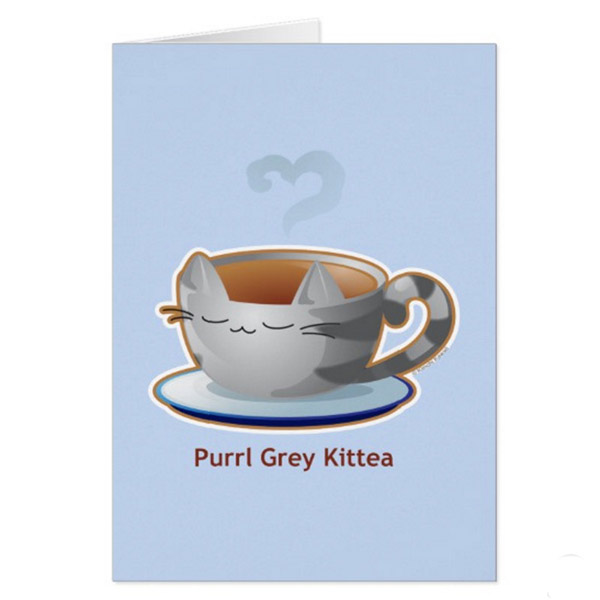 Purl Grey Greeting Card   on Zazzle  Starting at $2.95