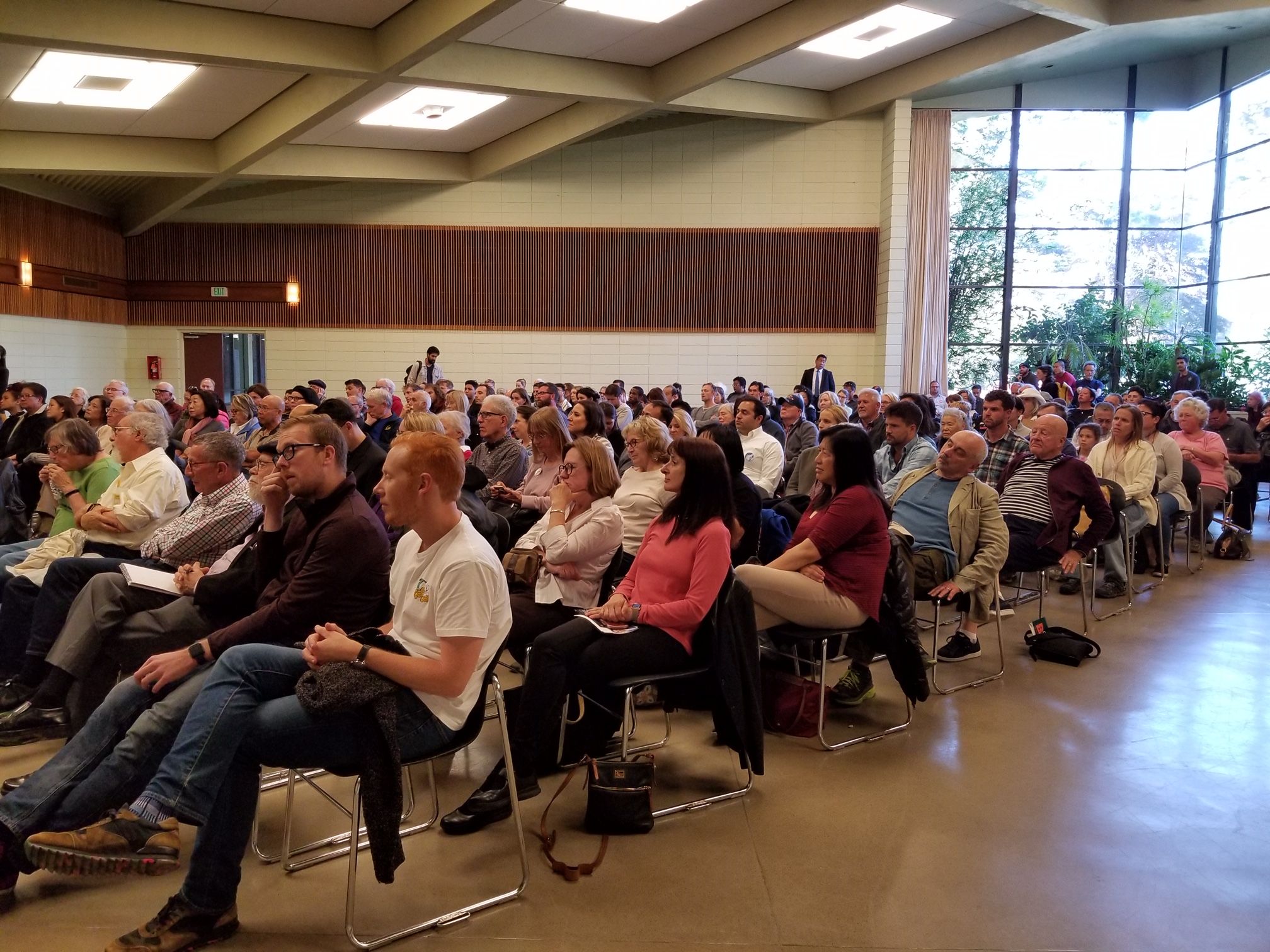 A packed house at the County Fair Building in Golden Gate Park on August 7, 2019.