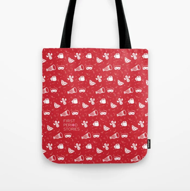 Period Pattern Tote Bag - $24.99 - $29.99