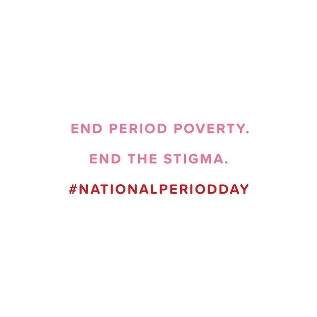 Yesterday was the world's first National Period Day! 🔴 Rallies were held in all 50 states, demanding an end to period poverty and stigma. Here are some of the many reasons people showed up yesterday and every day.  1 in 4 menstruators cannot afford menstrual products. . 35 states tax tampons as luxury products. Plus, almost every country around the world has the period tax. . Those who menstruate worldwide can miss anywhere from 10-20% of school because they don't have access to period products. . If you missed the rallies and are looking to get involved, donate to @periodmovement who organized this iconic day. And share your story with us to help smash that stigma! . . . #firstperiodstories #firstperiod #periodstories #period #periodproblems #periodpositive #periodpower #timeofthemonth #menstruation #peoplewithperiods #nationalperiodday #endperiodpoverty #endperiodstigma #endperiodshame #smashshame #menstrualequity #menstrualequality