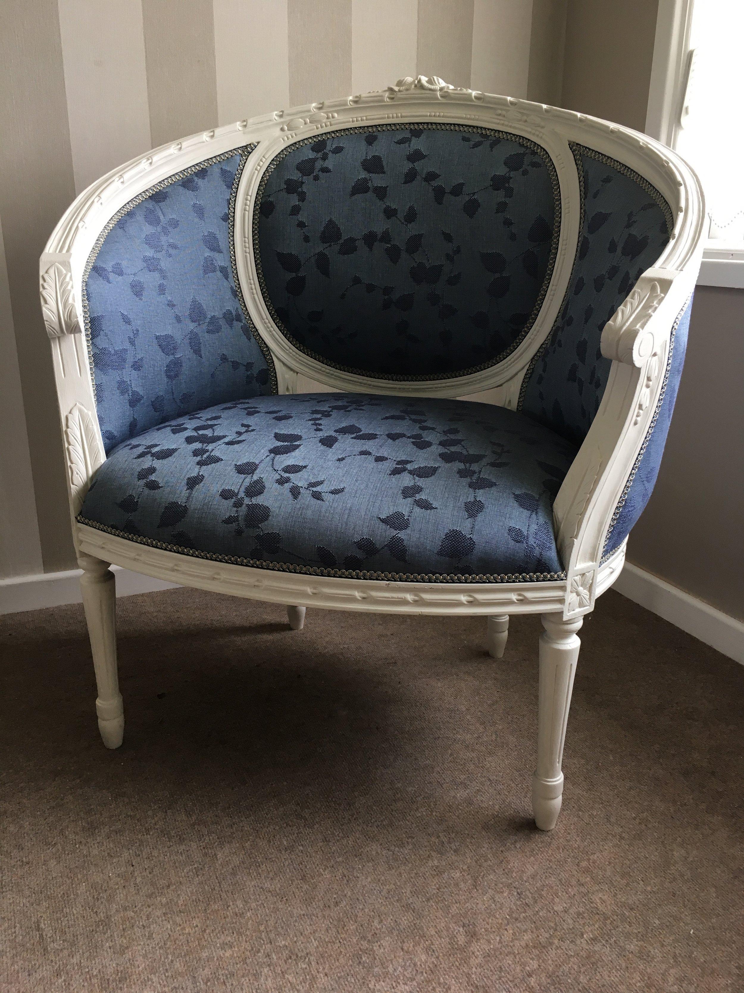 Nursing Chair: £450. One-off item.