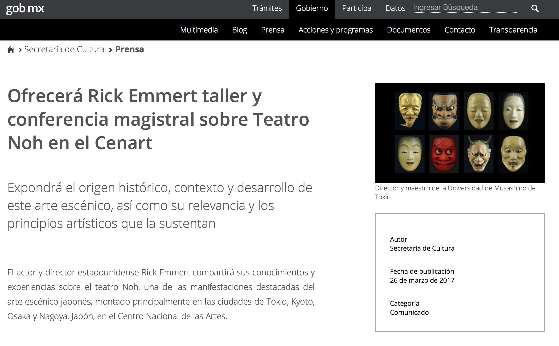 Prensa / Secretaría de Cultura -