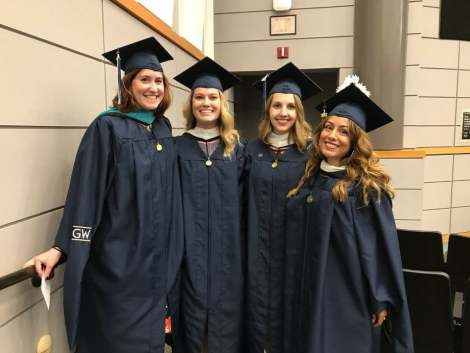 The girls who unknowingly introduced me to white allyship and helped me survive grad school (minus one who is not in the program but every bit as important to our group).