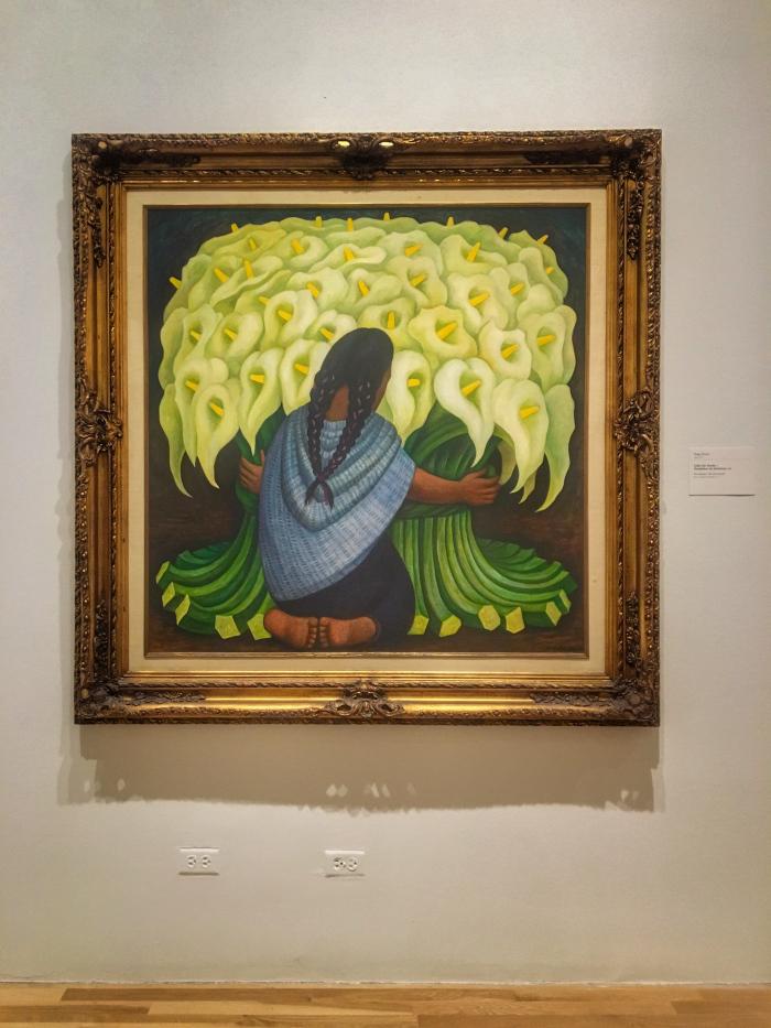 Diego Rivera, Calla Lily Vendor, 1942