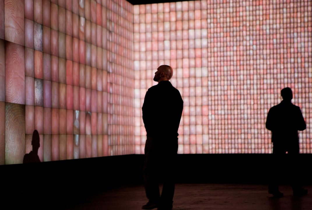 Rafael Lozano-Hemmer,  Pulse Index , 2010 in  Time Lapse , Site Santa Fe, Santa Fe, New Mexico, United States, 2012. Photo: Kate Russel