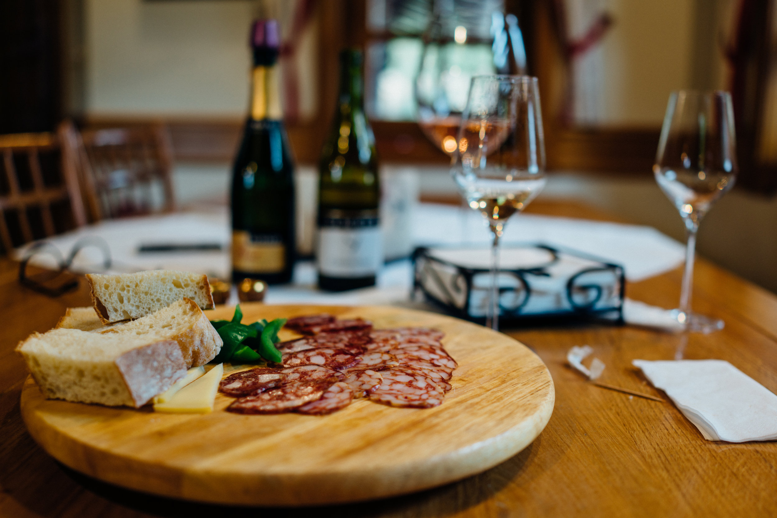 Cheese, Charcuterie and Wines at Šember Wines