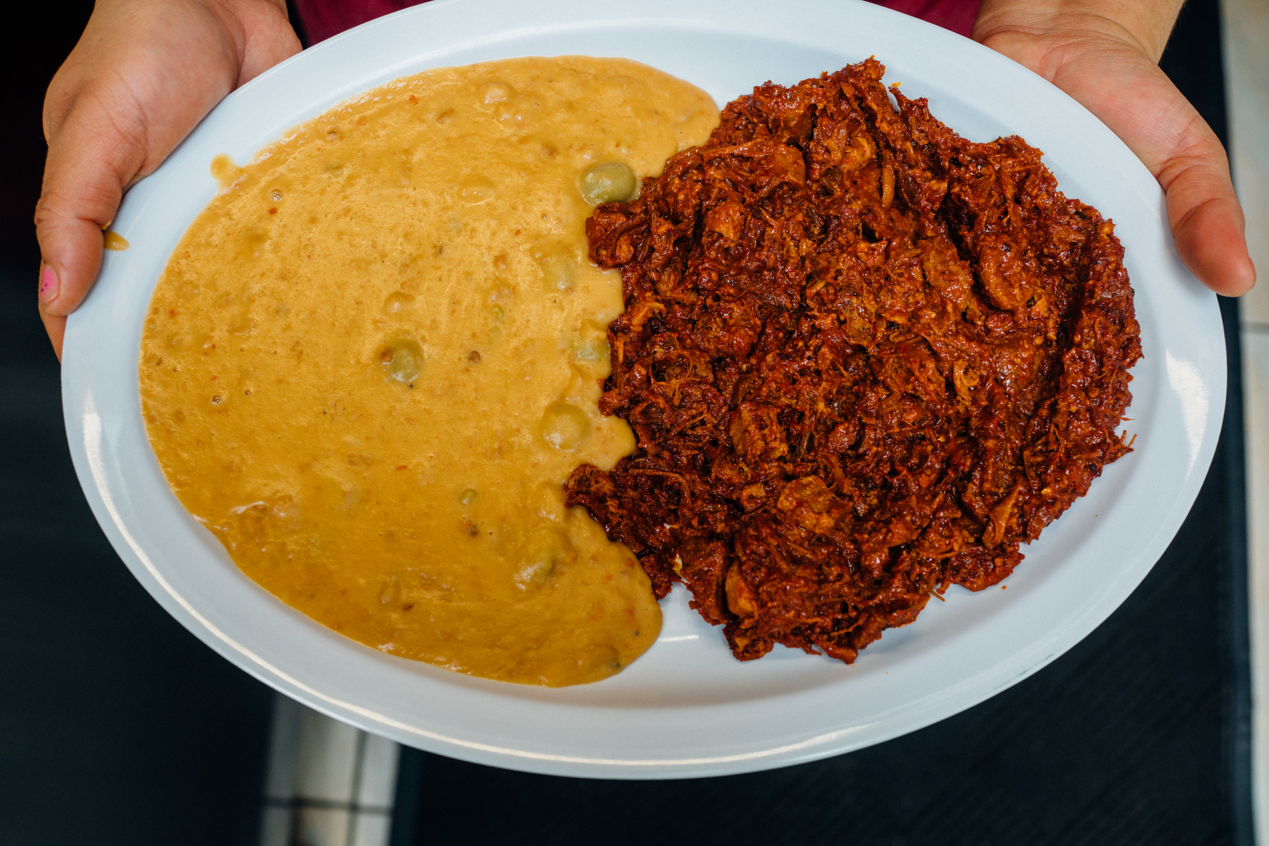 Chilorio at Taqueria El Sinaloense in Queens, New York