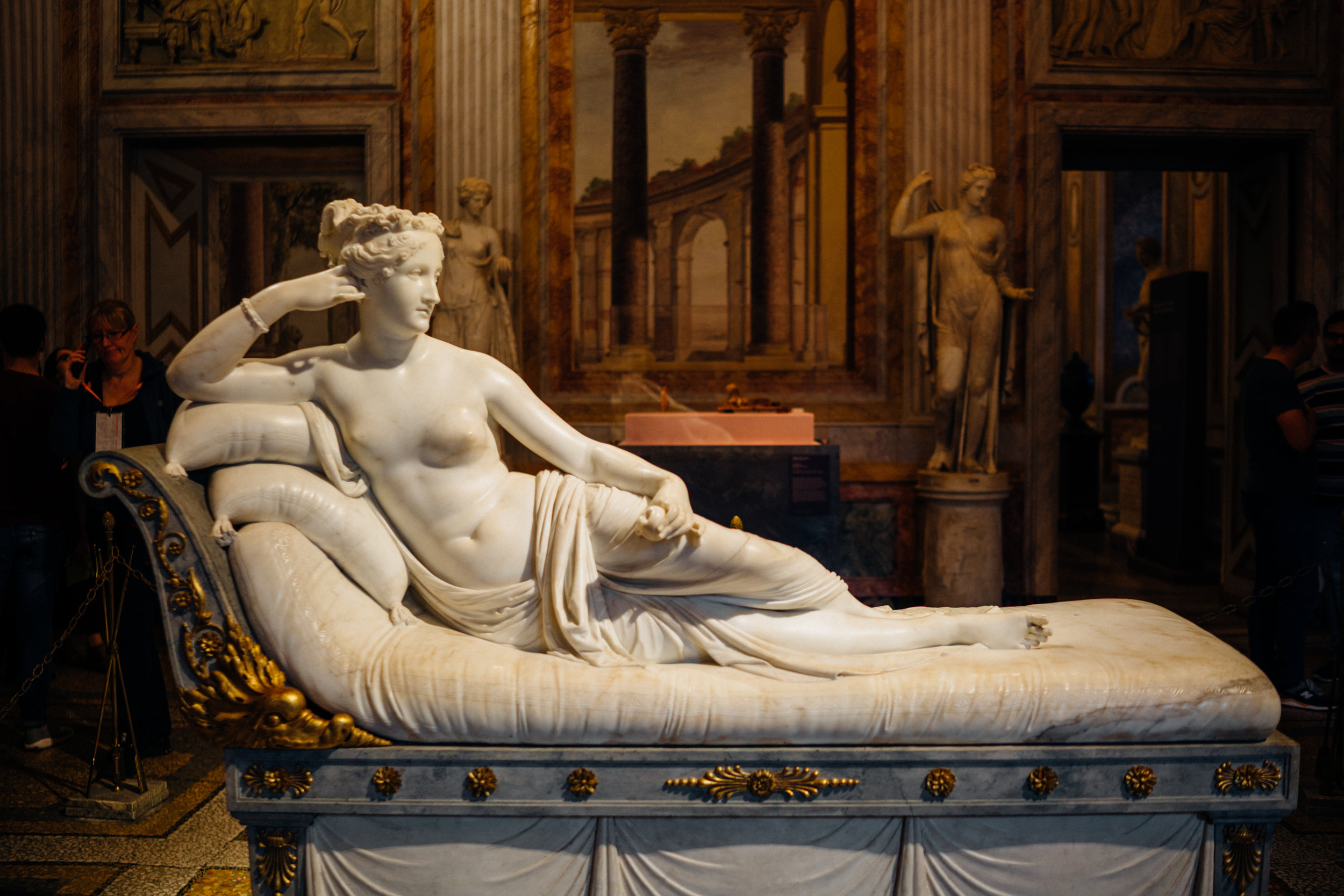 Canova's Pauline Bonaparte as Venus Victrix
