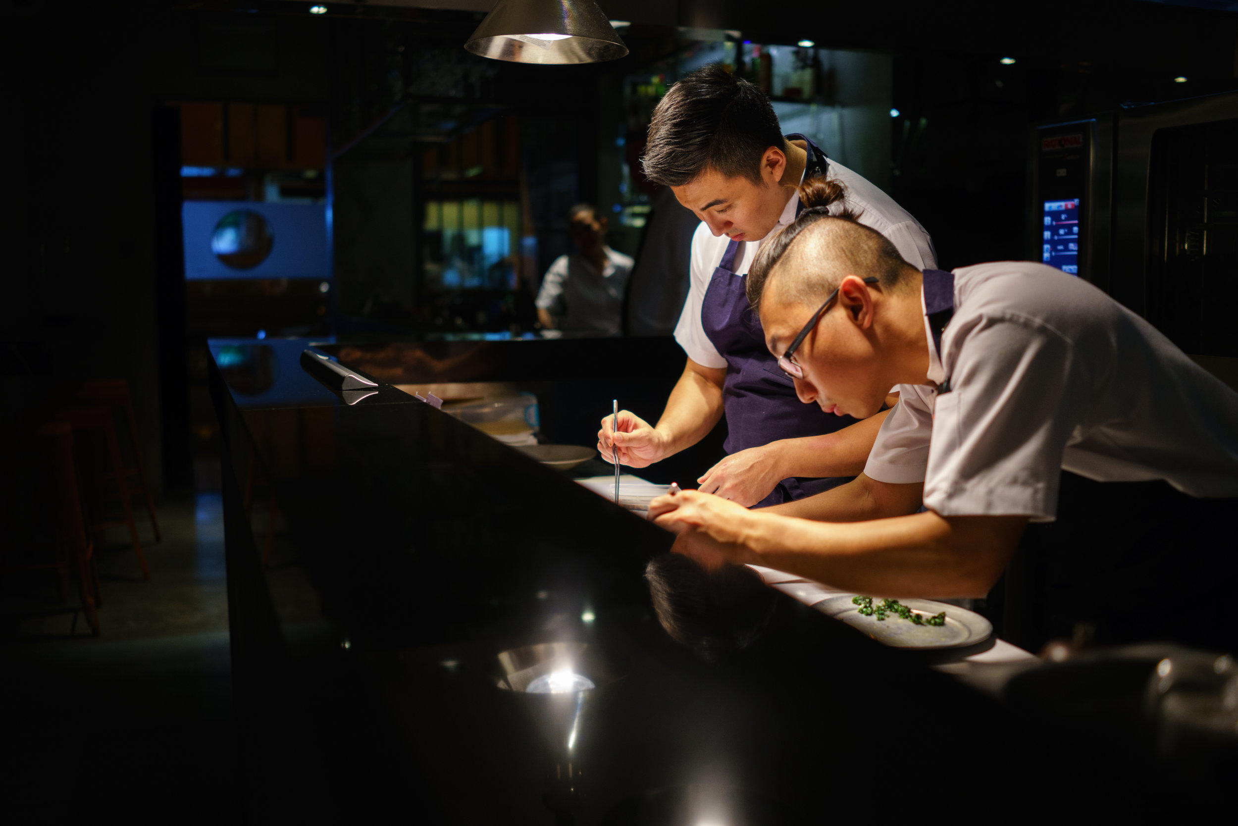 Chef Sun Kim at Meta