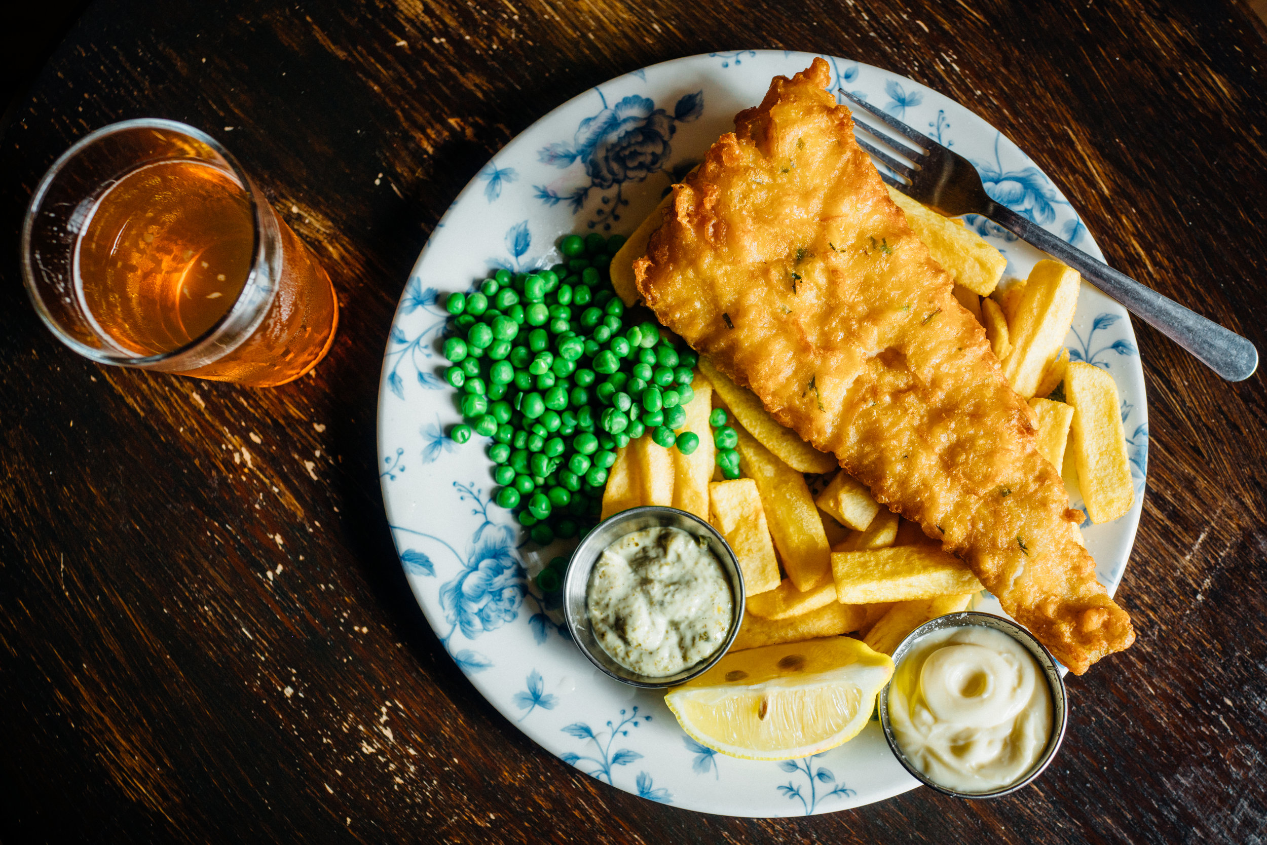 Fish & Chips at Woolwich Equitable