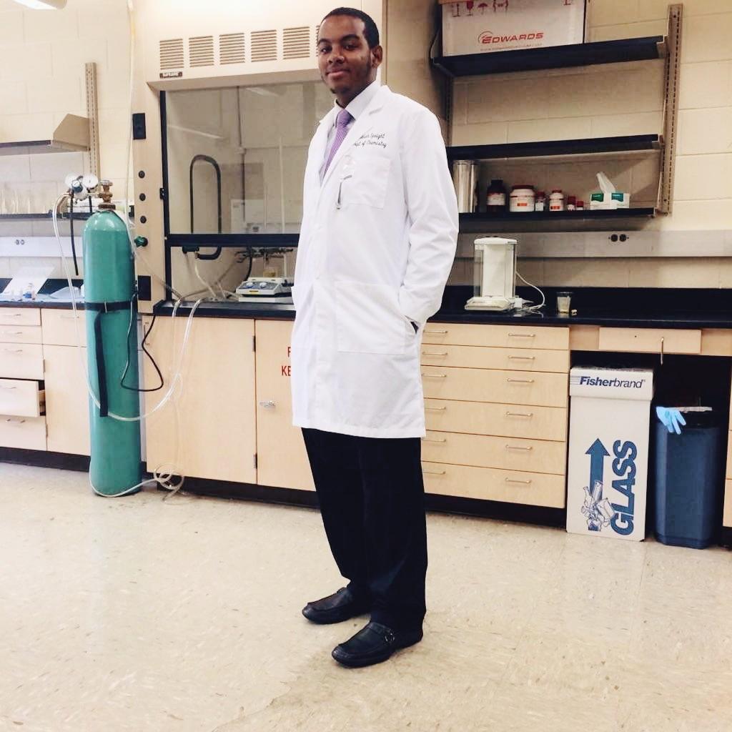 Meet this week's Pheatured scientist! - Phuture Dr. Isaiah Speight