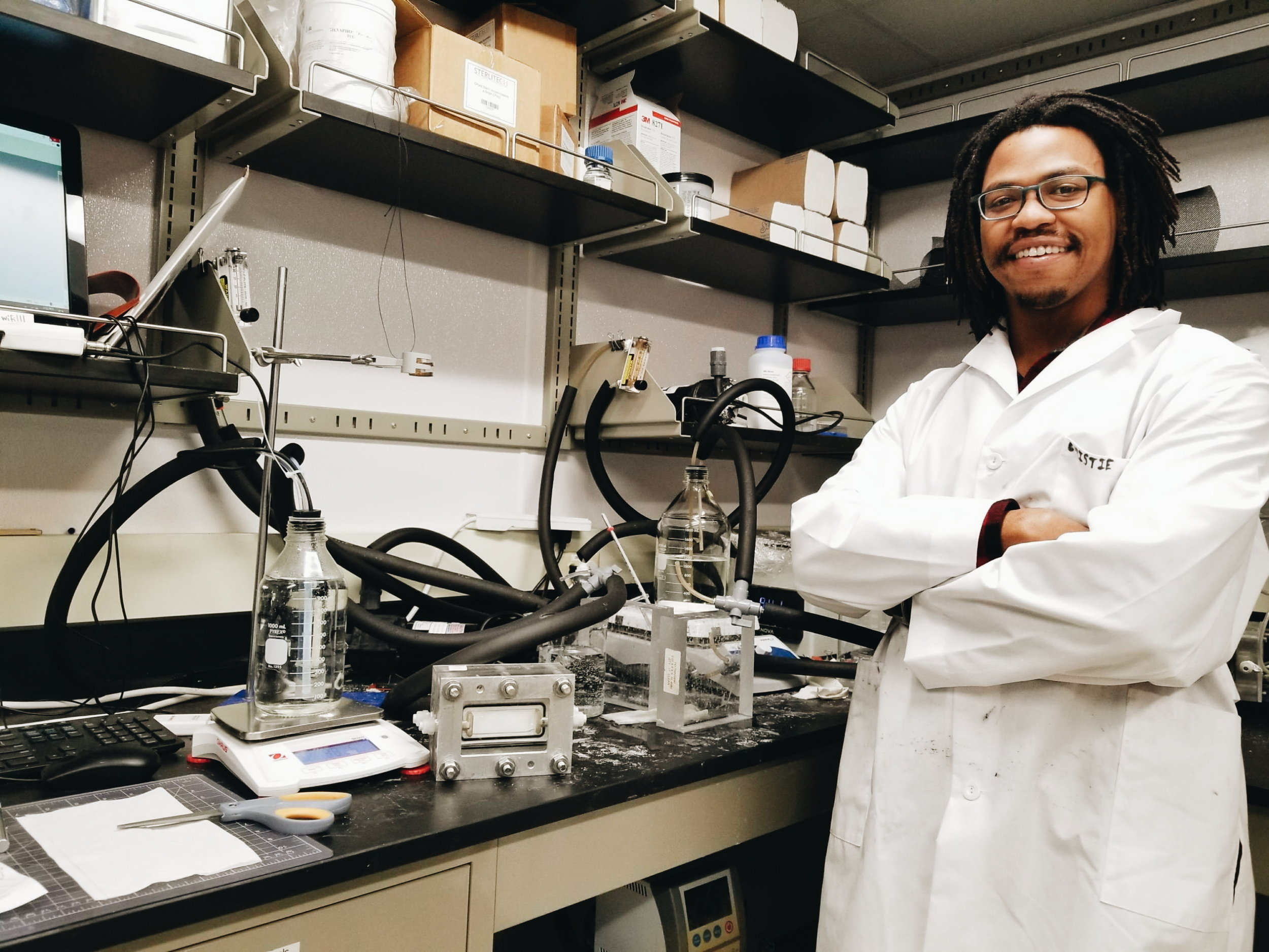 meet this week's pheatured scientist - Phuture Dr. Kofi Christie