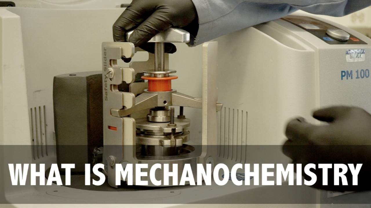 Episode 002 - Mechanical Energy in Chemistry ResearchMechanochemistry has been around since Aristotle, but it wasn't until this past decade that it has begun to catch interest in the chemistry research field. In today's video, phuture Dr. Stephanie will introduce you to the term mechanochemistry; an area that uses mechanical energy to induce a chemical transformation. With a mortar and pestle, you will see how it is applied at the small scale, but what happens when you need more energy?
