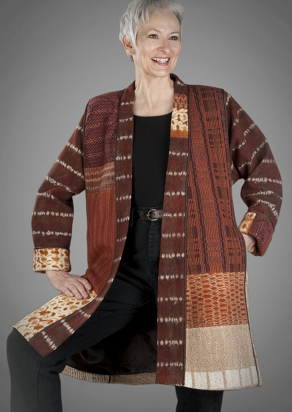 Liz Spear Hand Woven, Art-To-Wear, Clothing.jpg