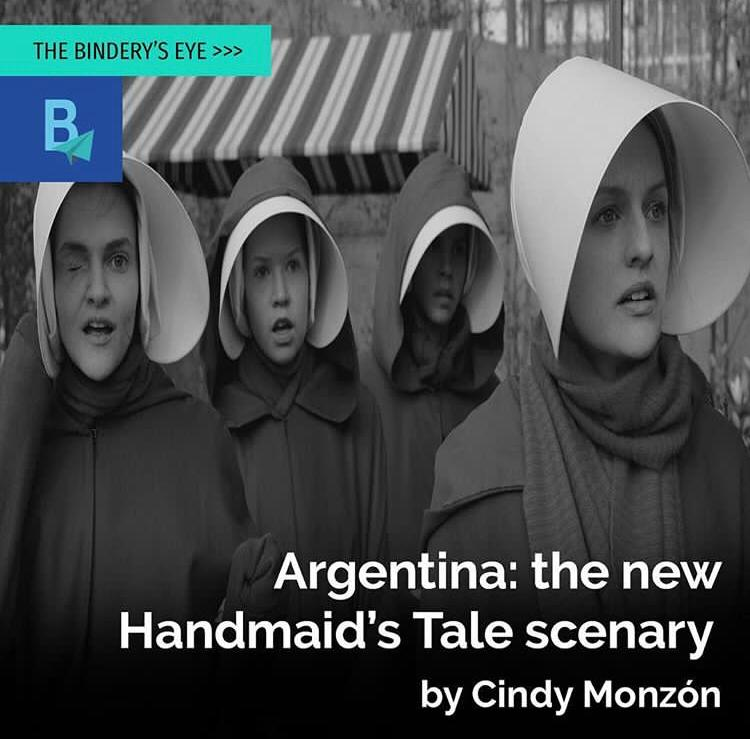 Argentina: the new Handmaid's Tale Scenery by Cindy Monzon