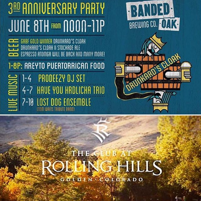 Double Header today 🤙🏼.. Starting at Banded Oak Brewing n Finishing at The Club at Rolling Hills 💀🍻 #prodeezy #bandedoakbrewing #theclubatrollinghills