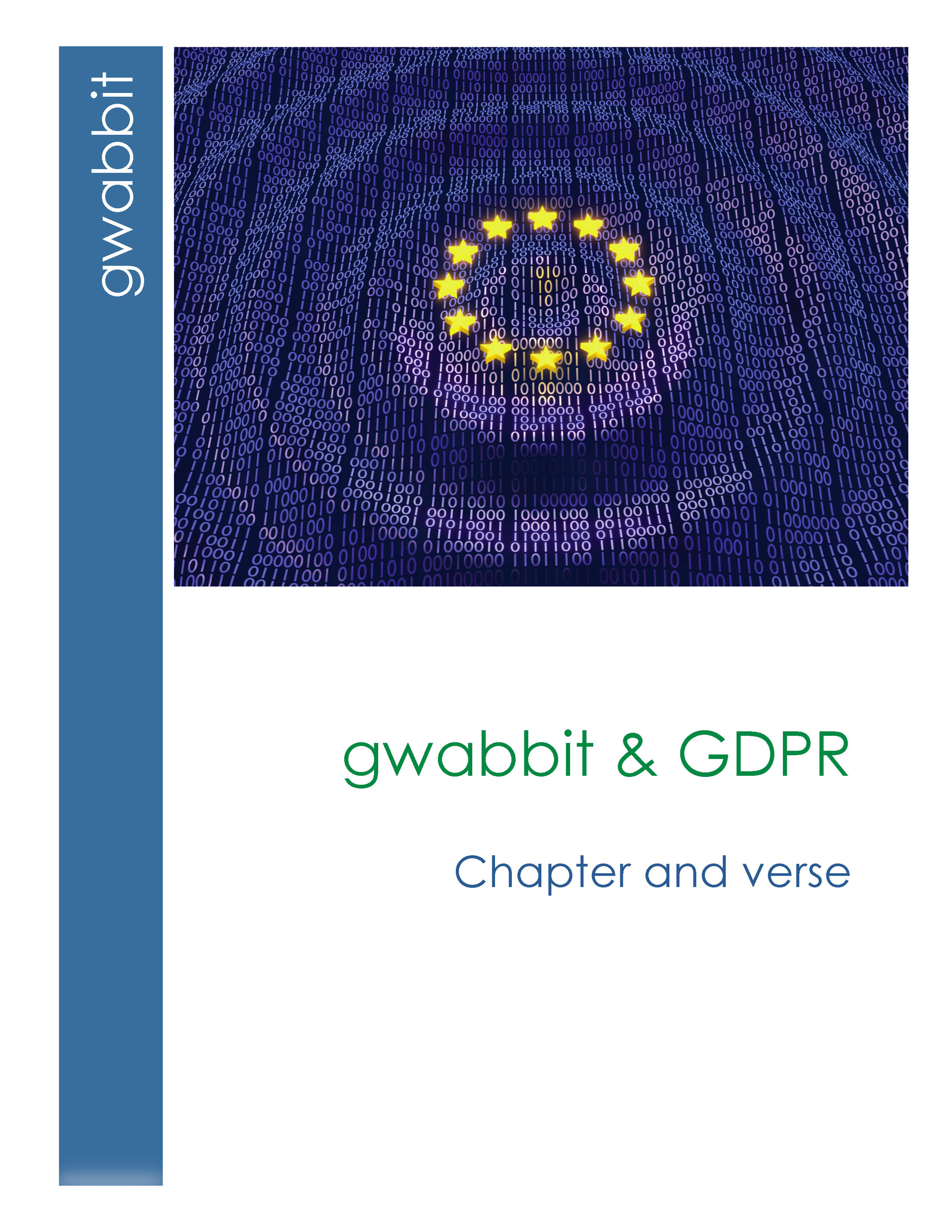 There's no shortage of confusion in the industry regarding GDPR. The purpose of this document is to provide clear information regarding the role gwabbit plays in GDPR compliance, both in data capture and data retention policies. This document also illustrates the issues associated with traditional address book-sourced CRM models as a result of GDPR.