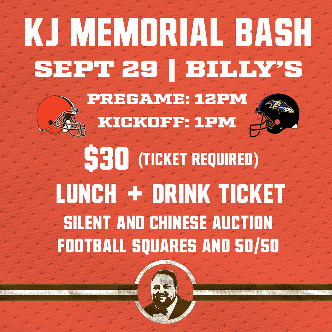 Memorial Bash - $30All proceeds donated to the Keith Jaranovic Scholarship FundLunch: Chicken, Pasta, SaladSilent Auction | Chinese Auction | 50/50 | Football Squares